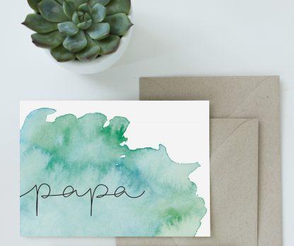 waldpapier papa karte