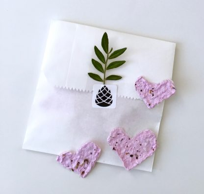 Let Love Grow Hearts Waldpapier